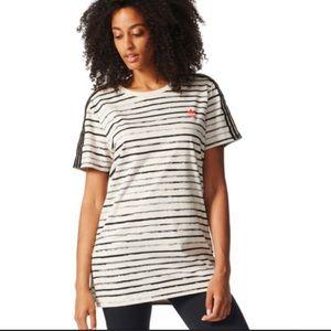 ADIDAS Originals Painted Stripes Tunic medium